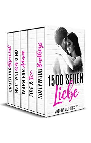 1500 Seiten Liebe made by Allie Kinsley: Sammelband aus 5 Liebesromanen
