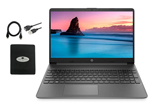 2021 Newest HP 15.6 HD Laptop for Business and Student, WLED-Backlit Display, AMD Athlon Gold 3150U (Up to 3.3Ghz), 8GB RAM, 512GB PCIe SSD, HDMI, USB-A&C, Webcam, WiFi, Fast Charge, w/GM Accessories