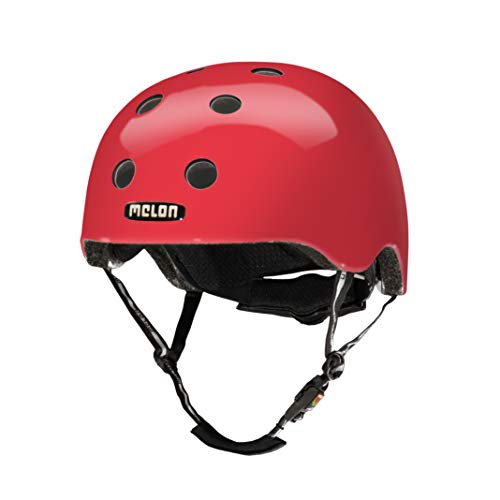 Melon Unisex – Erwachsene Urban Active-Rainbow Red XXS-S Helm, Rot