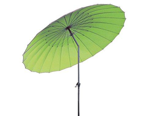 Profiline Kurbelschirm China 270 hellgrün, mit Kurbel, UV-Schutz 30 Plus und Knicker, 1003690