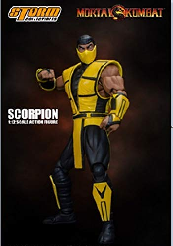 "Storm Collectibles 1/12 Scorpion Mortal Kombat 3"""