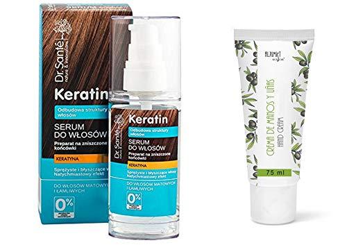 Dr. Santé Keratin Haaröl- Serum Collagen und Arganine tief Regeneration 50ml 0% Parabenen und Mineralölen