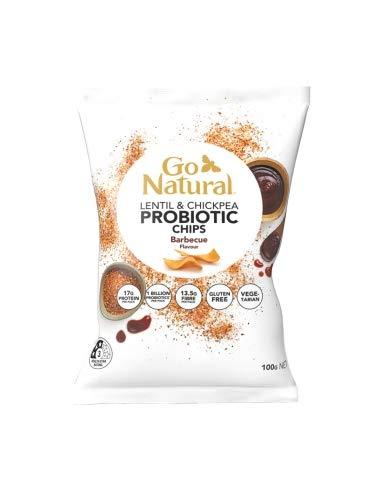 Go Natural Probiotischer Chip Bbq 100g x 5