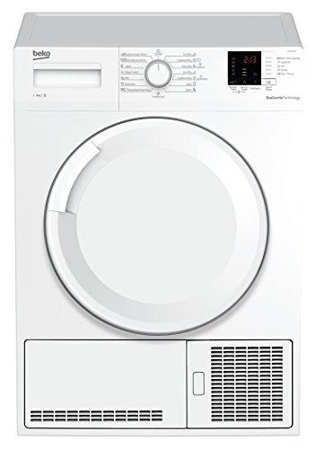 Beko DCU 7330 N Kondenstrockner/B/Xpress-Programm/Automatischer Knitterschutz/ BabyProtect Trocknen/Trommelbeleuchtung
