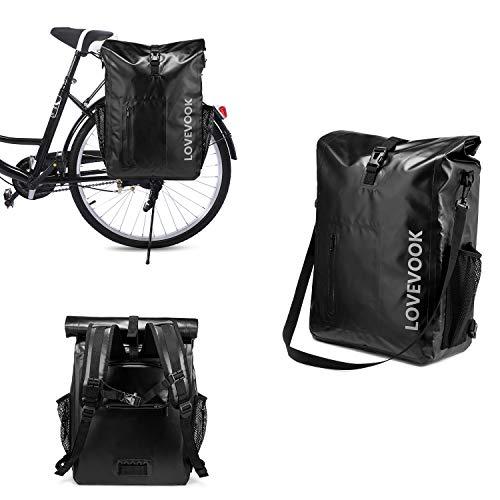 LOVEVOOK Bike Bag Pannier for Bicycle Waterproof...