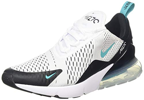 Nike Air MAX 270, Zapatillas de Running para Hombre, Multicolor (Black/White-Dusty Ca 001), 42.5 EU