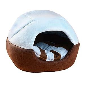 HOOPET® chaud et doux Niche pour animal domestique Nid Tapis pour chien ou chat pliable Lit pièce Idéal pour Medium animaux et petits animaux