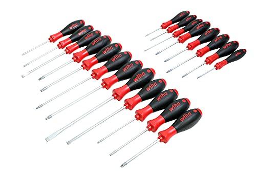 Wiha 30299 Pro Tool Set with SoftFinish Grip, 20 Piece