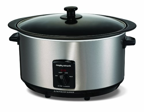 Morphy Richards 48705 Sear & Stew Slow Cooker 6,5 Liter
