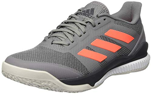 adidas Herren EH0847_46 2/3 Handball Shoe, Grey, EU