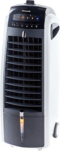 Honeywell ES800 Enfriador de aire evaporativo portátil, 36 W, Blanco y Negro