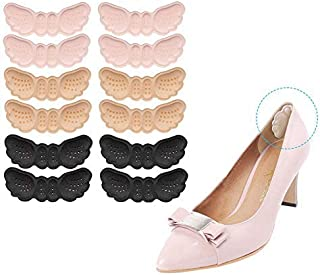 Santo Big Inserts Grips Liners Heel Blister Protectors for Women and Men (6 Thin, 6 Thick)