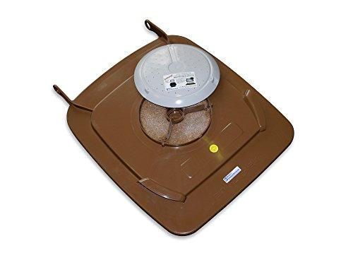 Bio-Filterdeckel für 240 l Biotonne - Biotonnendeckel