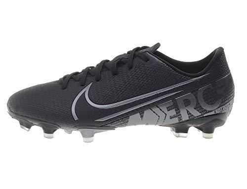 Nike Jungen Vapor 13 Academy Fg/Mg Fußballschuhe, Schwarz (Black/MTLC Cool Grey-Chrome 001), 37.5 EU