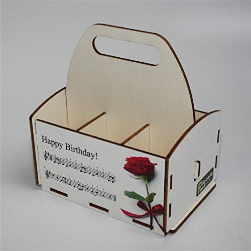 Sechserträger aus Holz, Flaschenträger, originelles Geburtstagsgeschenk, 6er-Träger, SixPack, …