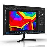 Thinlerain Monitor per computer, 19 pollici monitor schermo pc fisso Monitor TN Full HD (HDMI, VGA, 1366x 768, 60Hz, tempo di risposta 5ms) per laptop Mac Raspberry Pi Mac PS3 PS4