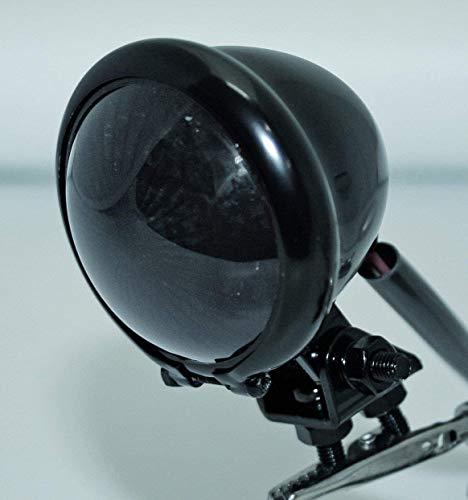 ShinYo LED Rücklicht BATES STYLE Ø57mm schwenkbar schwarz getönt