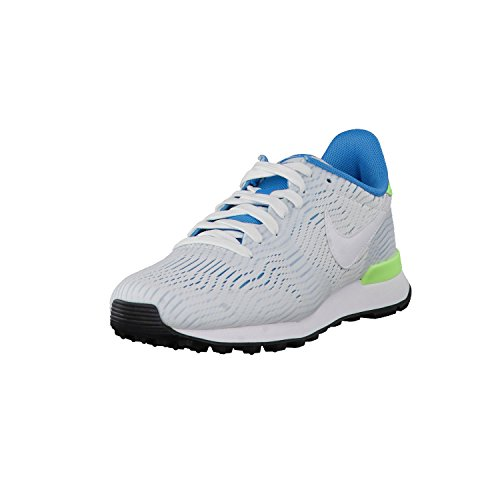 Nike W Internationalist EM, Zapatillas de Deporte Mujer, Blanco (White/White-Bl Lagoon-Ghst Grn), 38 1/2