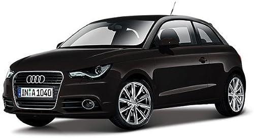 Audi A1 schwarz die cast car model 1 24 by BBurago 21058 by Bburago