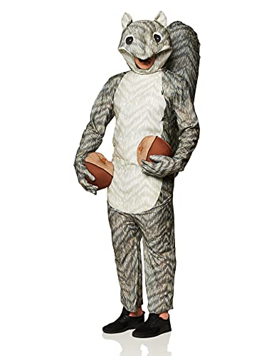 Rasta Imposta Squirrel Costume, Gray, One Size