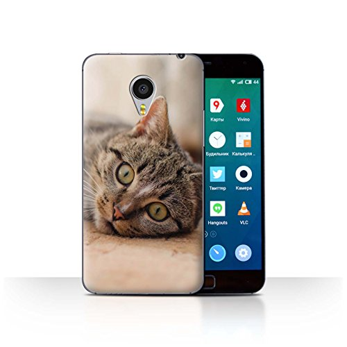 Stuff4® Hülle/Case für Meizu MX4 Pro/Tabby Katze Muster Katze/Katzenrassen Kollektion