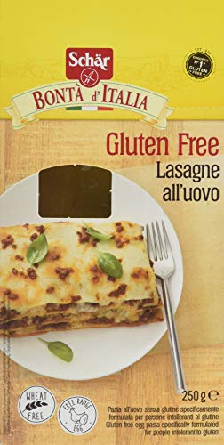 Schär Lasagne all'Uovo - 6 confezioni da 250 g, Senza glutine