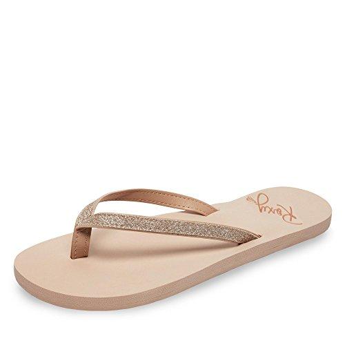 Roxy Napili II J SNDL, Zapatos de Playa y Piscina Mujer, Beige (Beige/(Ta1 Tan 1) Ta1), 37 EU
