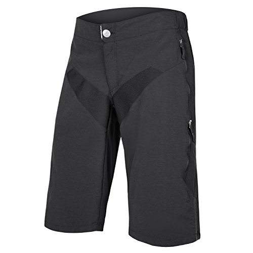 Endura SingleTrack Men's Baggy MTB Cycling Shorts Black, X-Large