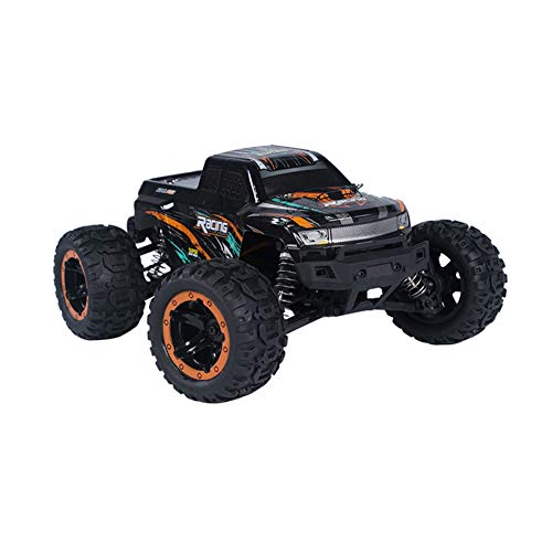Yiwa HBX 16889 1/16 2.4G 4 WD 45 km/h RC auto zonder bezem met LED-licht vrachtwagen terreinwagen RTR model VS 9125 oranje drie accu