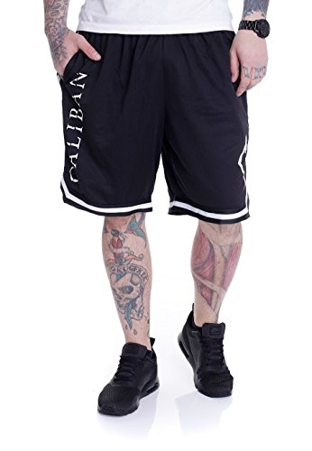 Caliban - Gravity Logo Striped - Shorts-Medium