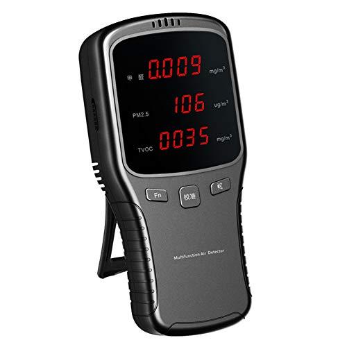 Yissma Luftqualität- Messgerät Formaldehyd Formaldehyd-Detektor PM2.5, Detektor für die Raumluftqualität zu Hause