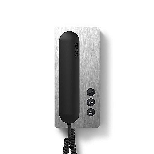 Siedle 5011615 Haustelefon Standard In-Home-Bus, BTS 850-02 E/S, Edelstahl/schwarz