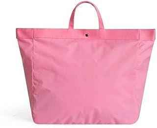 JAUROUXIYUJI Shoulder Bag Bags Clothes Bags Travel Bag Man Short Waterproof Duffel Bag Female Students Bag (Color : Pink, Size : L)