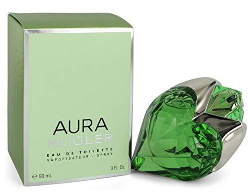 Aura Mugler, Agua de tocador para mujeres - 90 ml.