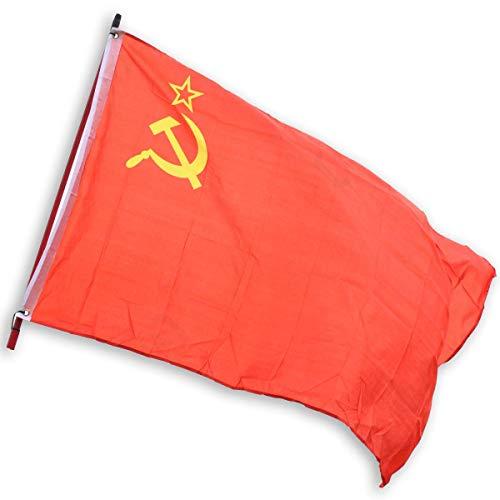Bandiera Unione Sovietica U.R.S.S. Russia Comunista WWII Falce e Martello