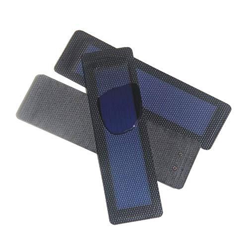 Luxtech Panel Solar Flexible Cargador Portátil 2V/0.5W del Panel Solar de Silicio Amorfo para Tamaños del 195 * 58MM