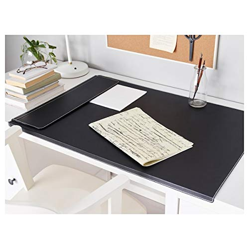 Ikea RISSLA Vade de escritorio, negro 86 x 58 cm