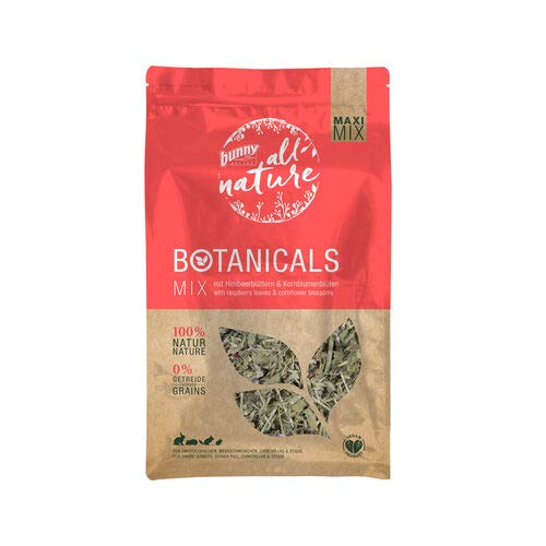 Bunny Nature Maxi Mix Botanicals - Raspberry & Cornflower - 400g