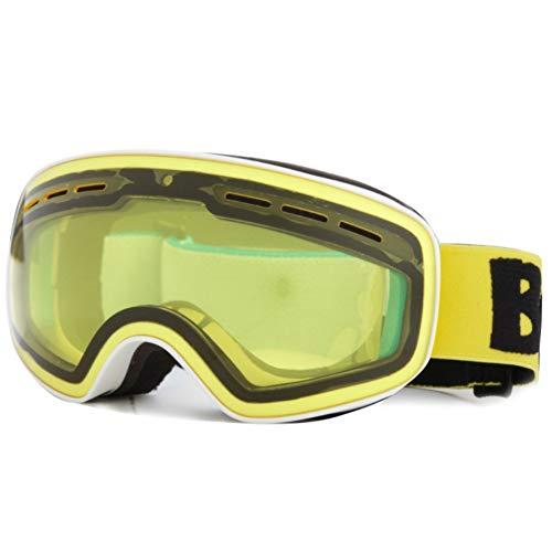 KOERIM Gafas de Esquí Profesionales para Niños, Doble Capa, Gran Esfera, Antivaho,...