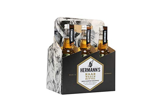 Hermanns Bier & Hopfenshampoo Sixpack