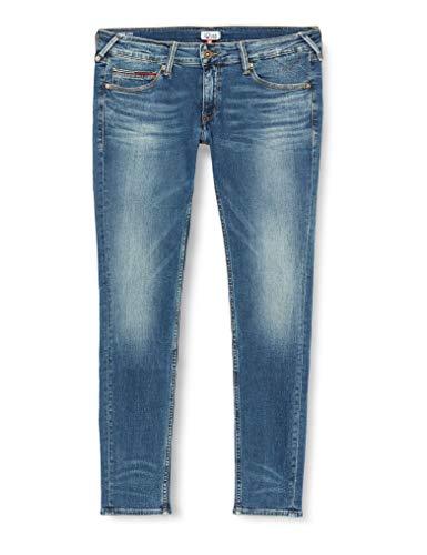 Tommy Jeans Damen Low Rise Sophie Skinny Jeanshose, Blau (Industrial Blue Stretch 911), W27/L32