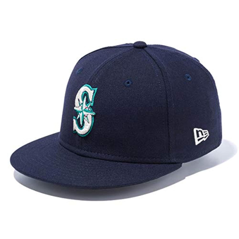 ニューエラ キッズ キャップ 帽子 NEW ERA Youth 9FIFTY シアトル?マリナーズ スナップバック ネイビー/チームカラー