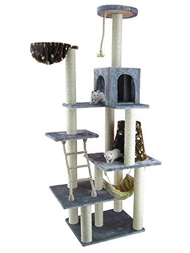 Armarkat Cat Tree Model A7802, Silver Gray