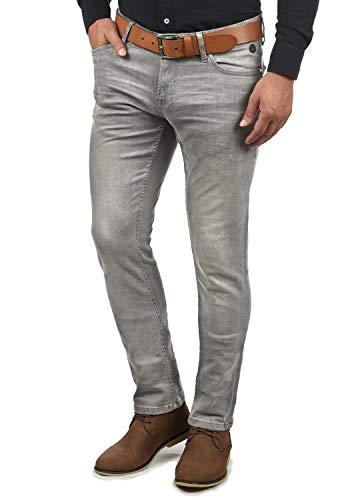 Blend Pico Herren Jeans Hose Denim Aus Stretch-Material Skinny Fit, Größe:W34/34, Farbe:Denim Grey (76205)
