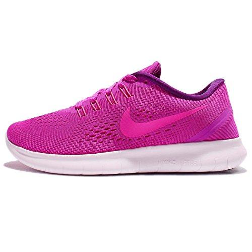 Nike Women's Free Rn Running Shoes Pink Size: 3.5 UK