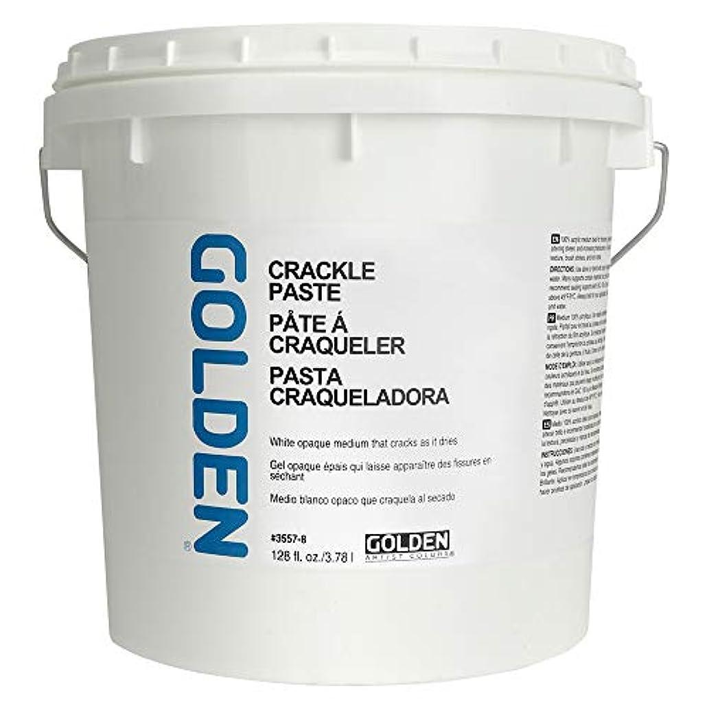 Golden Acryl Med 128 Oz Crackle Paste