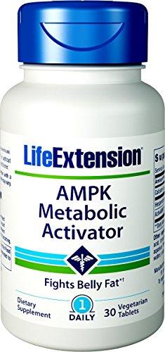 Life Extension AMPK activador metabólico 30 tabletas vegetarianas (El empaque...