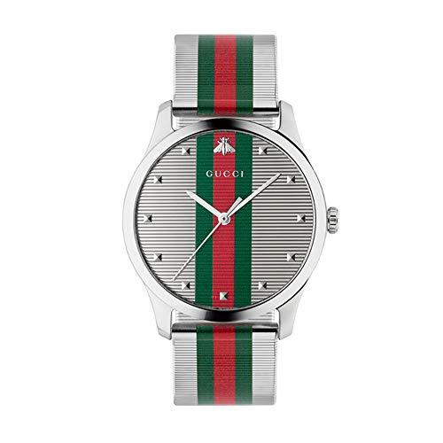 GUCCI Heren G-Tijdloze Armband Band Horloge, Multi YA126284