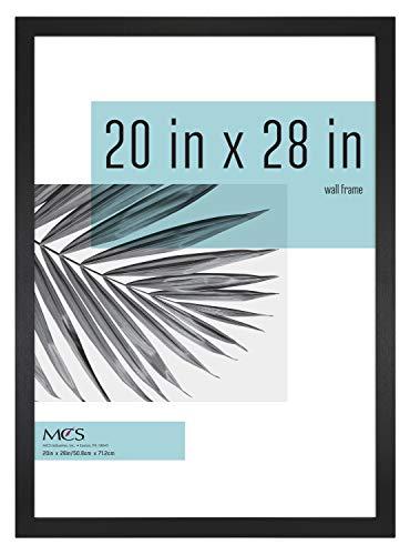 MCS Industries Studio Gallery Frames, 20x28 in, Black Woodgrain