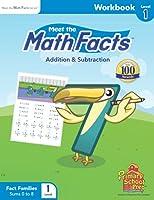 Meet the Math Facts Level 1 - Workbook 193561052X Book Cover